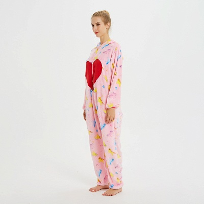 Cute Pyjamas for Women Unicorn Onesies, Pink_2