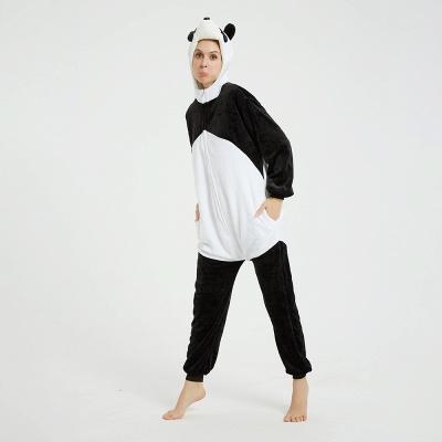 Cute Hoodie Pyjamas for Women Panda Onesies_12