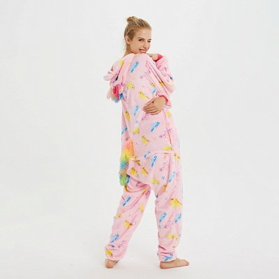Cute Pyjamas for Women Unicorn Onesies, Pink_6