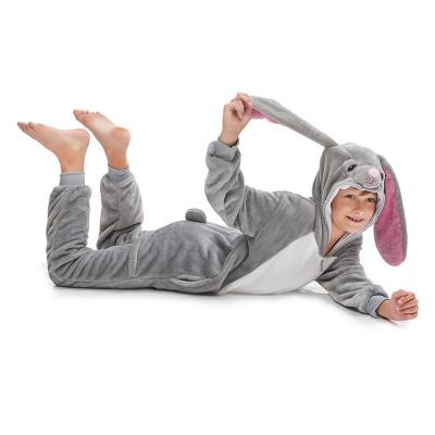 Lovely Animal Sleepwear for Boys MashiMaro Onesie, Grey_6