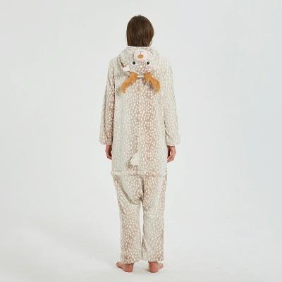 Adorable Adult Pyjamas for Women Deer Onesies_15