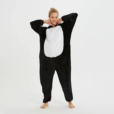 Cute Pyjamas for Women Huskie Onesies, Dark_16