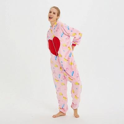 Cute Pyjamas for Women Unicorn Onesies, Pink_18