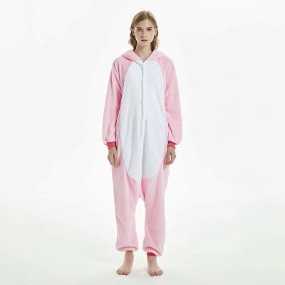 Cute Adult Pink Unicorn Onesies Sleepwear for Girls_9