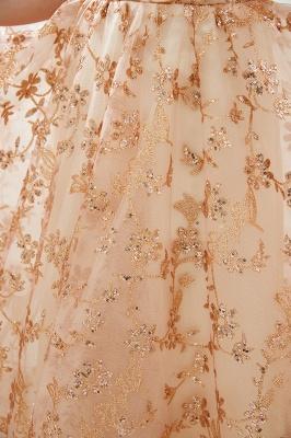 Gorgeous Off the Shoulder A-line Floor Length Lace Prom Dresses | Long Evening Dresses Cheap_9