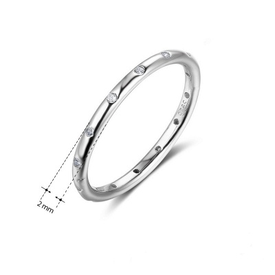 Elegant Alloy Plated Rings for Ladies_6