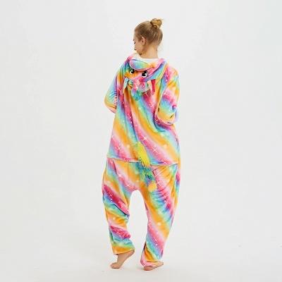 Cute Pyjamas for Women Unicorn Onesies, Rainbow_13