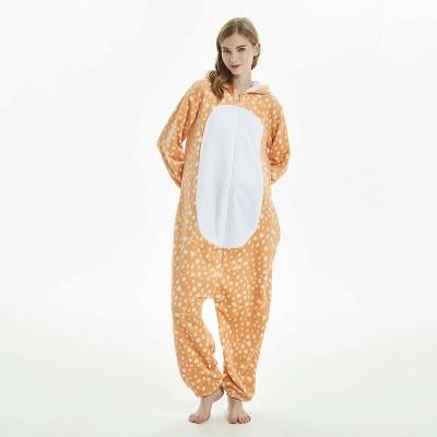 Cute Adult Deer Onesies Pajamas for Women_8