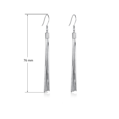 Personalized Sterling 925 Silver Earrings_8