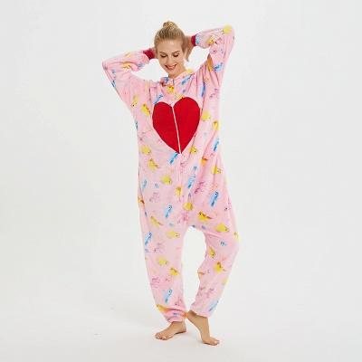 Cute Pyjamas for Women Unicorn Onesies, Pink_9