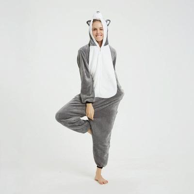 Adorable Adult Pyjamas for Women MashiMaro Onesie, Grey_13