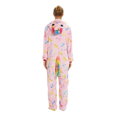 Cute Pyjamas for Women Unicorn Onesies, Pink_23
