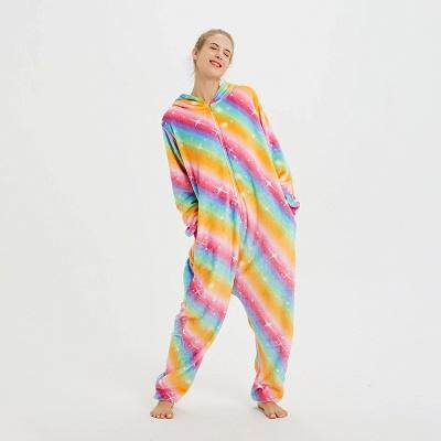 Cute Pyjamas for Women Unicorn Onesies, Rainbow_9