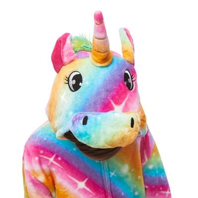 Lovely Pajamas Sleepwear for Kids Unicorn Onesies, Rainbow_5
