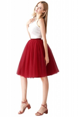 Jewel Sleevelss Knee Length A-line Cute Short Party Dresses_71