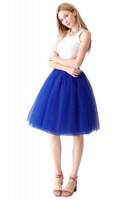 Jewel Sleevelss Knee Length A-line Cute Short Party Dresses_34