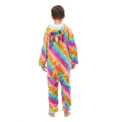 Lovely Pajamas Sleepwear for Kids Unicorn Onesies, Rainbow_4