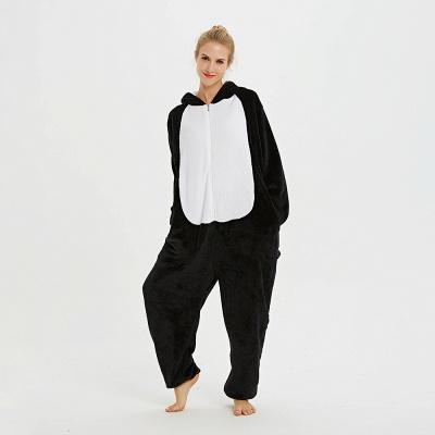 Cute Pyjamas for Women Huskie Onesies, Dark_13