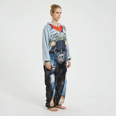 Cute Animal Pyjamas Hoodie Onesies for Women_2