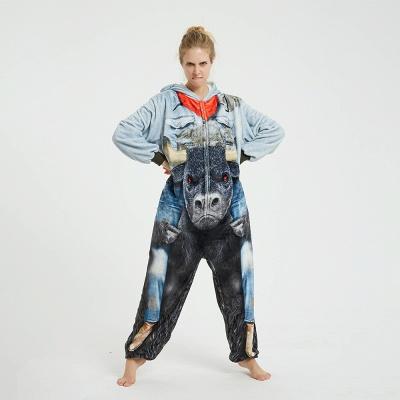 Cute Animal Pyjamas Hoodie Onesies for Women_8