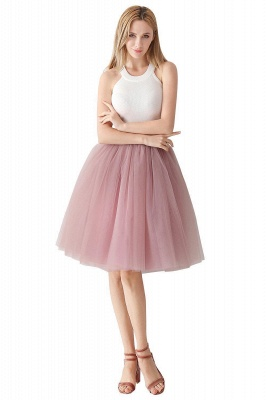 Jewel Sleevelss Knee Length A-line Cute Short Party Dresses_53