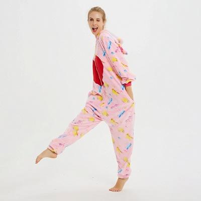 Cute Pyjamas for Women Unicorn Onesies, Pink_14