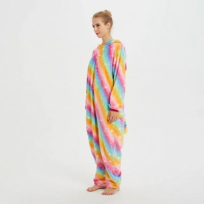 Cute Pyjamas for Women Unicorn Onesies, Rainbow_6