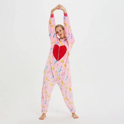 Cute Pyjamas for Women Unicorn Onesies, Pink_10