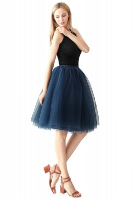 Jewel Sleevelss Knee Length A-line Cute Short Party Dresses_39