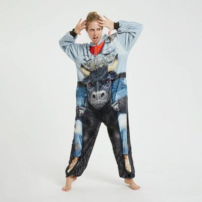 Cute Animal Pyjamas Hoodie Onesies for Women_18