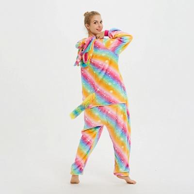 Cute Pyjamas for Women Unicorn Onesies, Rainbow_5