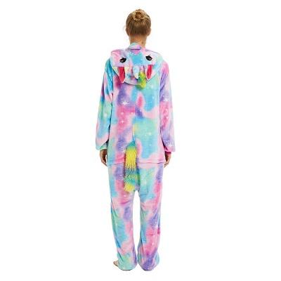 Cute Animal Pyjamas for Women Rainbow Hoodie Onesies_22