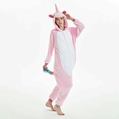 Cute Adult Pink Unicorn Onesies Sleepwear for Girls_14