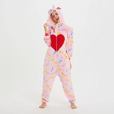 Cute Pyjamas for Women Unicorn Onesies, Pink_20