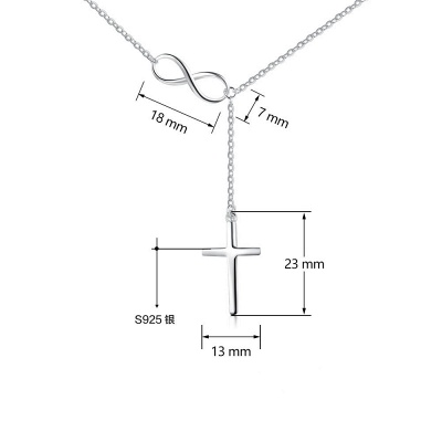 Personalized Alloy Plated Necklace_8