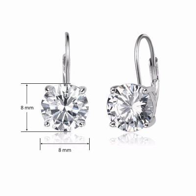 Personalized Alloy Plated Earrings Jewelry for Fashion Girls_6