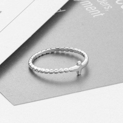 Chic Alloy Plated Rings for Bride_2