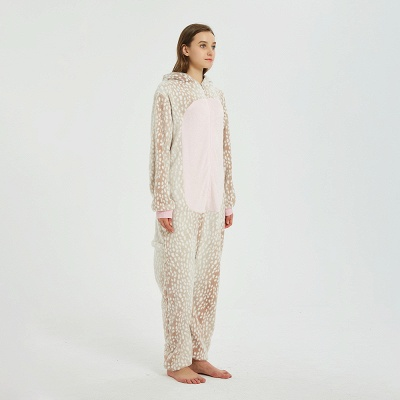 Adorable Adult Pyjamas for Women Deer Onesies_2