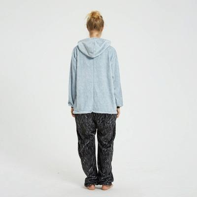 Cute Animal Pyjamas Hoodie Onesies for Women_9