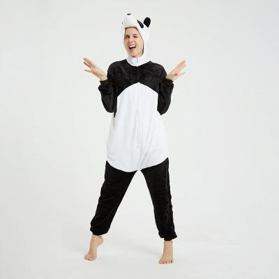 Cute Hoodie Pyjamas for Women Panda Onesies_5