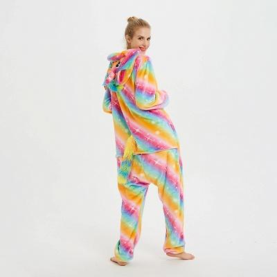 Cute Pyjamas for Women Unicorn Onesies, Rainbow_4