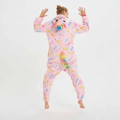 Cute Pyjamas for Women Unicorn Onesies, Pink_5