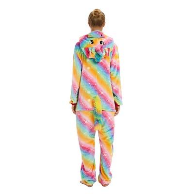 Cute Pyjamas for Women Unicorn Onesies, Rainbow_18