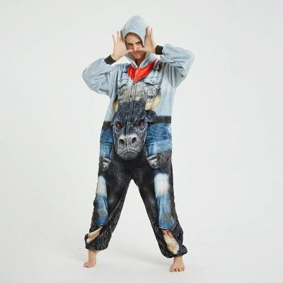 Cute Animal Pyjamas Hoodie Onesies for Women_16