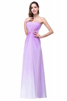 ADRIENNE | A-line Strapless Chiffon Bridesmaid Dress_1