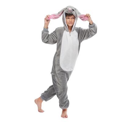 Lovely Animal Sleepwear for Boys MashiMaro Onesie, Grey_1