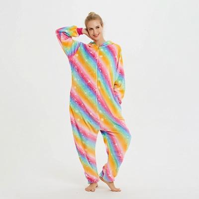 Cute Pyjamas for Women Unicorn Onesies, Rainbow_8