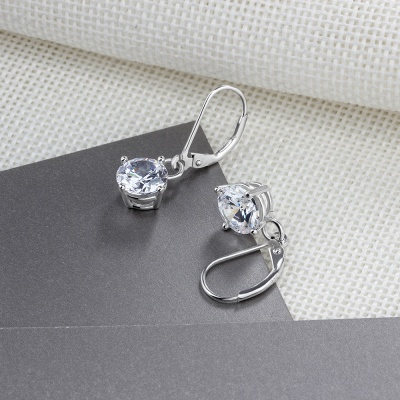 Personalized Alloy Plated Earrings Jewelry_7
