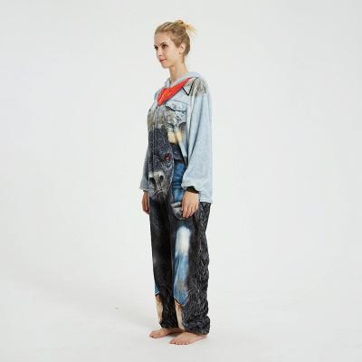 Cute Animal Pyjamas Hoodie Onesies for Women_14