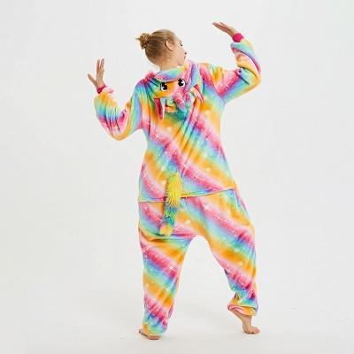 Cute Pyjamas for Women Unicorn Onesies, Rainbow_3